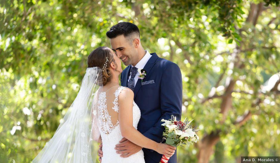 La boda de Lourdes y Yassin en Alhaurin De La Torre, Málaga