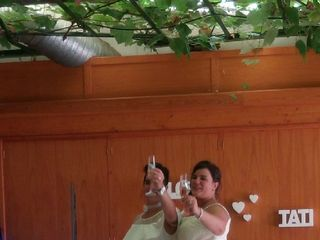 La boda de Loreto  y Tati  1