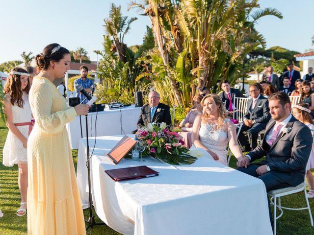 La boda de Daniel y Belen en Valdelagrana, Cádiz 18