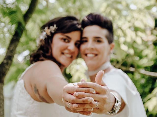 La boda de Loreto  y Tati