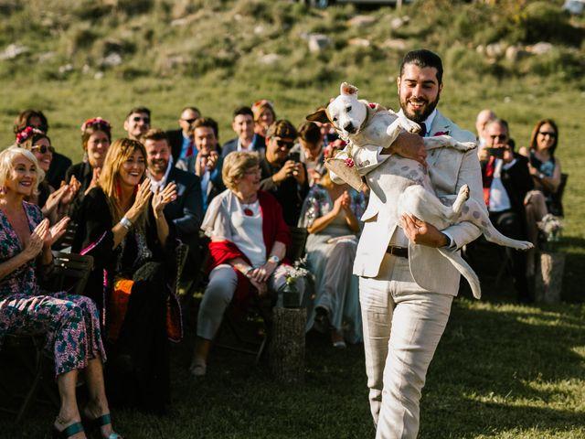 La boda de Iban y María en Canalda, Lleida 44