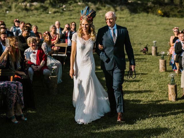 La boda de Iban y María en Canalda, Lleida 45