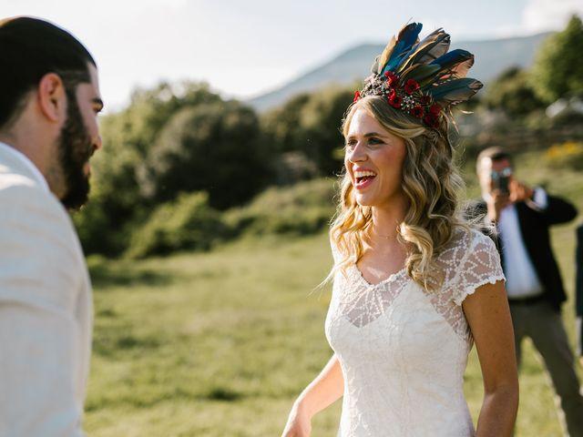 La boda de Iban y María en Canalda, Lleida 46
