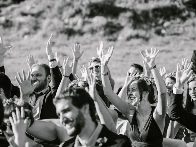 La boda de Iban y María en Canalda, Lleida 52