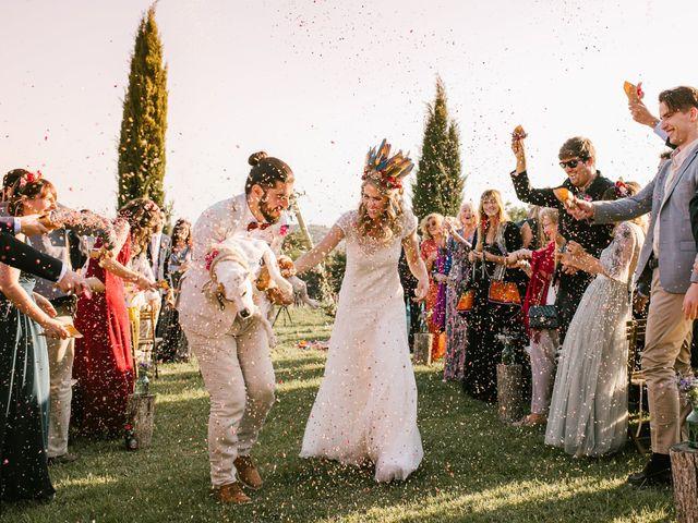 La boda de Iban y María en Canalda, Lleida 56