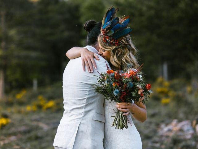 La boda de Iban y María en Canalda, Lleida 64