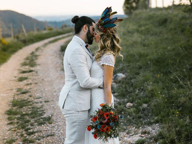 La boda de Iban y María en Canalda, Lleida 66