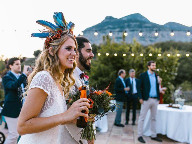 La boda de Iban y María en Canalda, Lleida 75