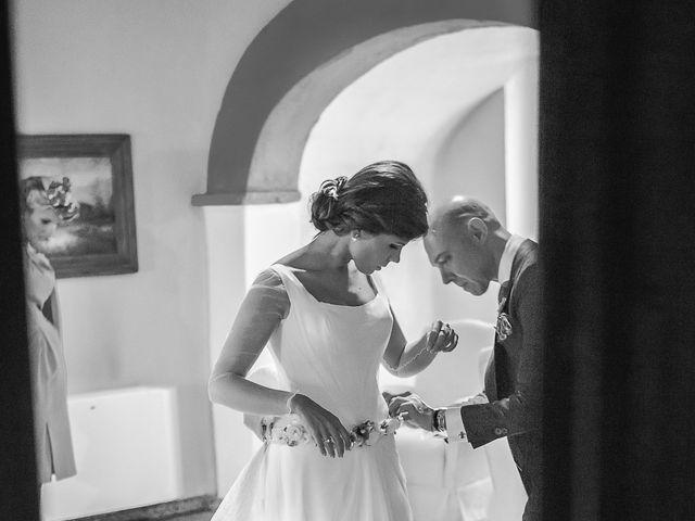 La boda de Borja y Marta en Higuera De Vargas, Badajoz 12