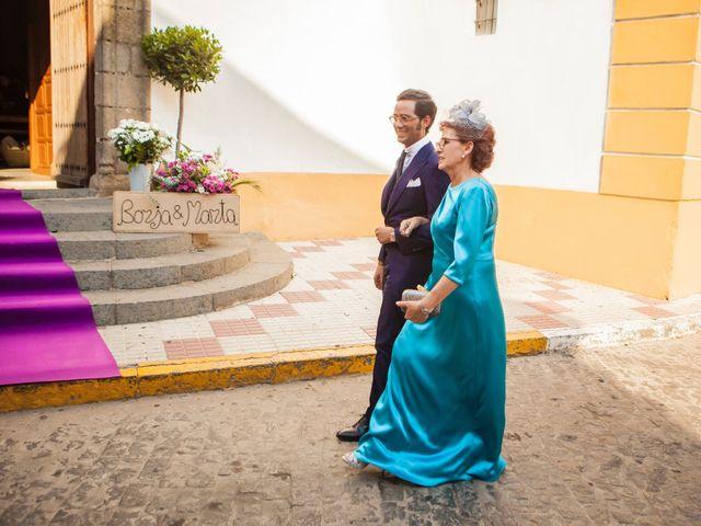 La boda de Borja y Marta en Higuera De Vargas, Badajoz 14