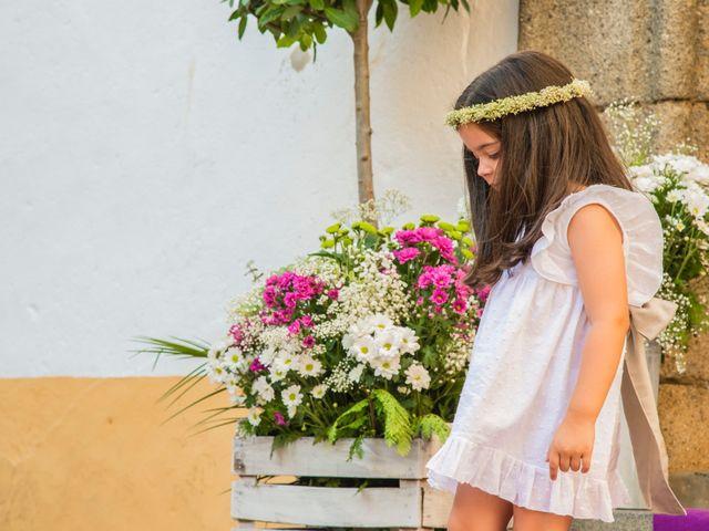 La boda de Borja y Marta en Higuera De Vargas, Badajoz 16