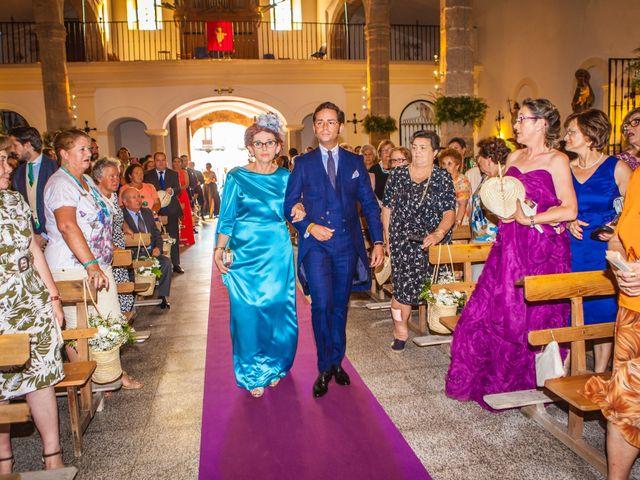 La boda de Borja y Marta en Higuera De Vargas, Badajoz 19