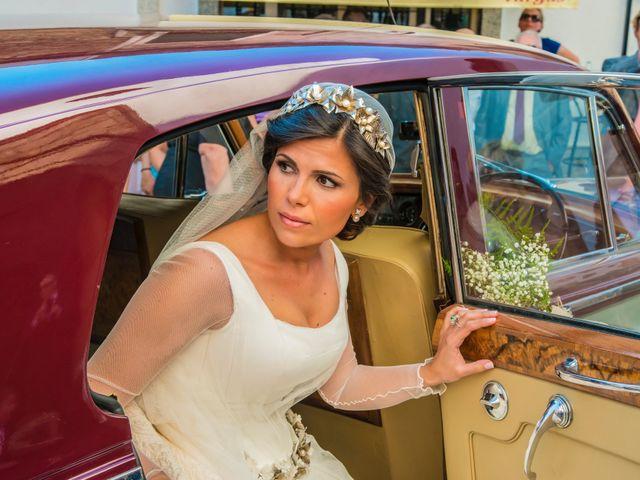 La boda de Borja y Marta en Higuera De Vargas, Badajoz 21