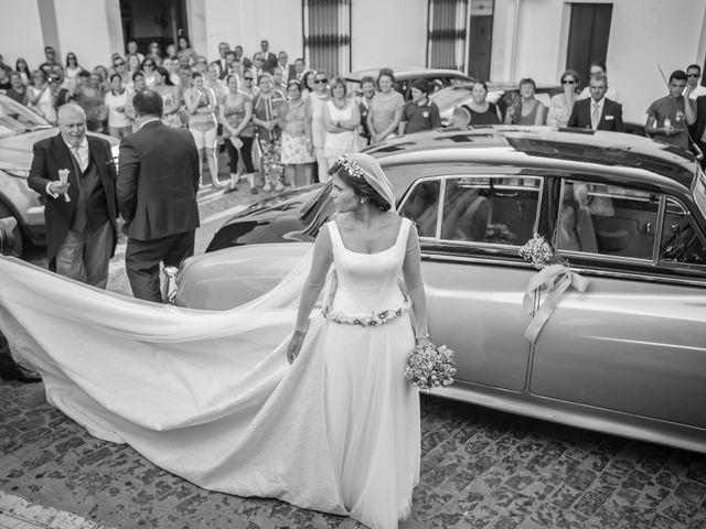 La boda de Borja y Marta en Higuera De Vargas, Badajoz 22