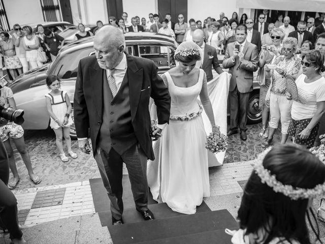 La boda de Borja y Marta en Higuera De Vargas, Badajoz 23