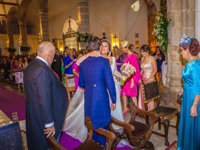 La boda de Borja y Marta en Higuera De Vargas, Badajoz 25