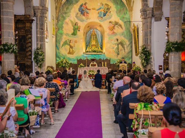 La boda de Borja y Marta en Higuera De Vargas, Badajoz 29