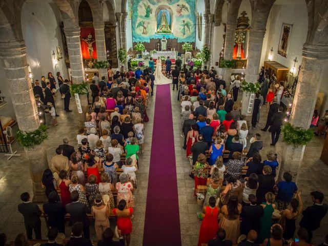 La boda de Borja y Marta en Higuera De Vargas, Badajoz 33