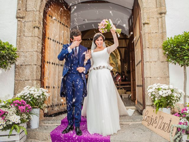 La boda de Borja y Marta en Higuera De Vargas, Badajoz 38