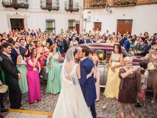 La boda de Borja y Marta en Higuera De Vargas, Badajoz 39