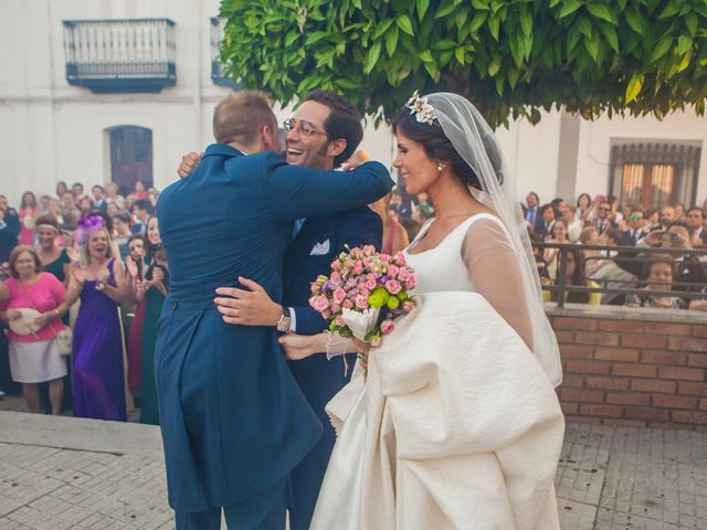La boda de Borja y Marta en Higuera De Vargas, Badajoz 40