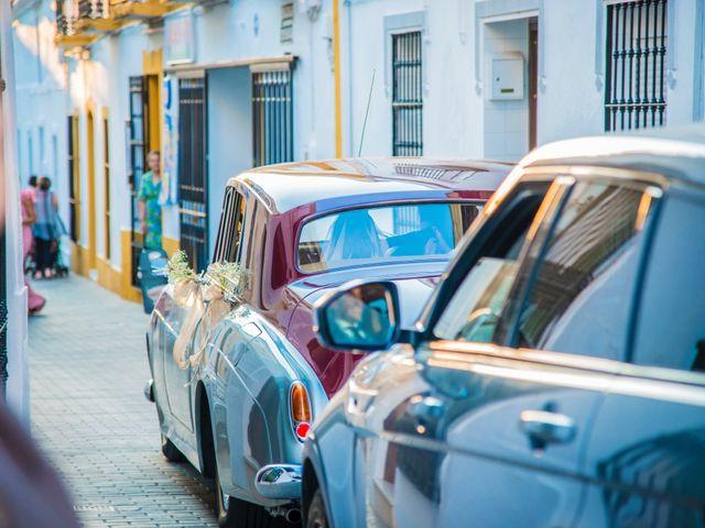 La boda de Borja y Marta en Higuera De Vargas, Badajoz 45