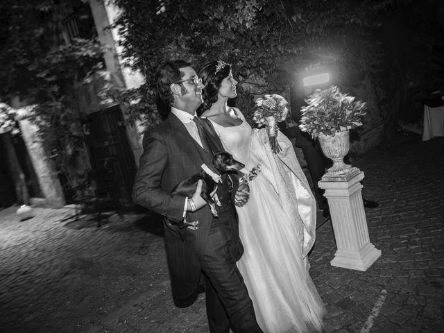La boda de Borja y Marta en Higuera De Vargas, Badajoz 54
