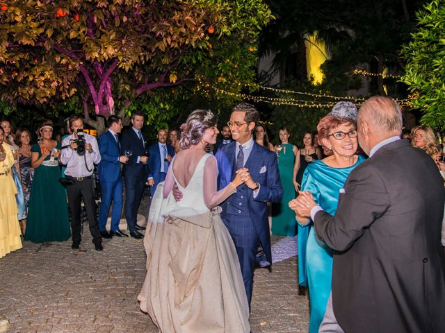 La boda de Borja y Marta en Higuera De Vargas, Badajoz 67