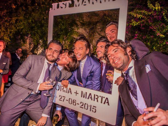 La boda de Borja y Marta en Higuera De Vargas, Badajoz 69