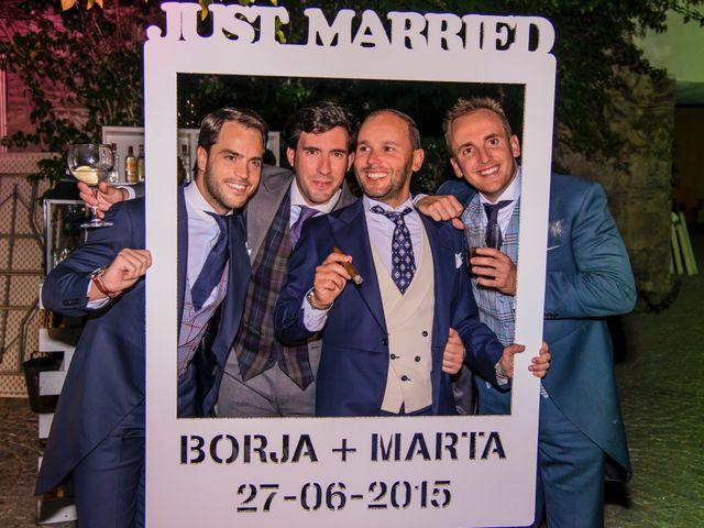 La boda de Borja y Marta en Higuera De Vargas, Badajoz 71