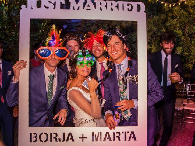 La boda de Borja y Marta en Higuera De Vargas, Badajoz 72