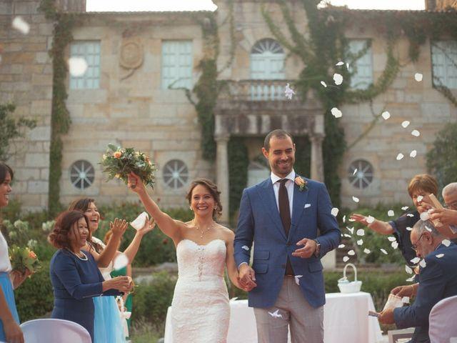 La boda de Alberto y Krystina en Vilanova De Arousa, Pontevedra 13