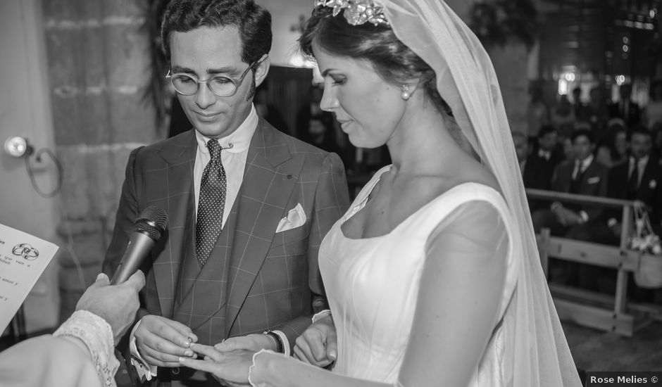 La boda de Borja y Marta en Higuera De Vargas, Badajoz