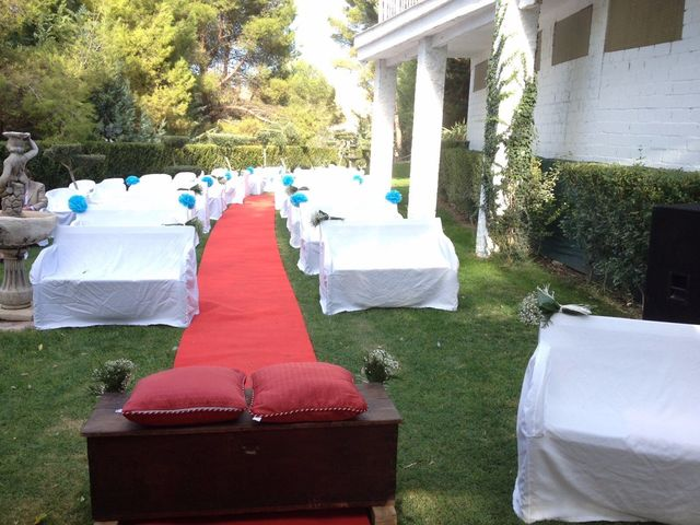 La boda de Pablo y Cristina en Chinchon, Madrid 11