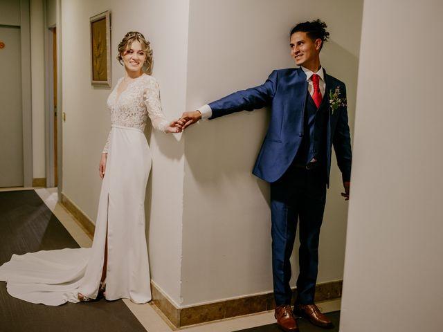 La boda de Roger y Lilia en San Agustin De Guadalix, Madrid 20