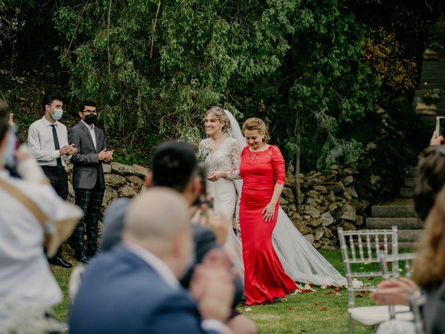La boda de Roger y Lilia en San Agustin De Guadalix, Madrid 35