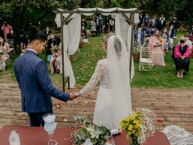 La boda de Roger y Lilia en San Agustin De Guadalix, Madrid 53