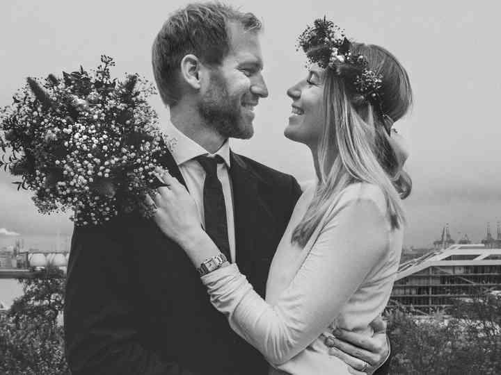 La boda de Lina y Hubertus