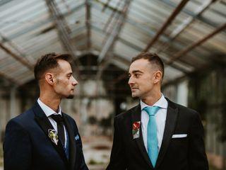 La boda de Álvaro y Borja