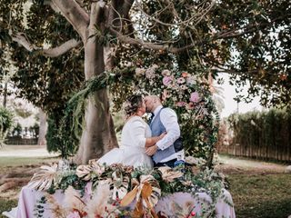 La boda de Sandra y Rúben