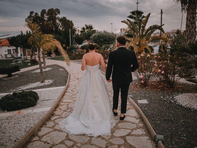 La boda de Davide y Victoria en La/villajoyosa Vila Joiosa, Alicante 18