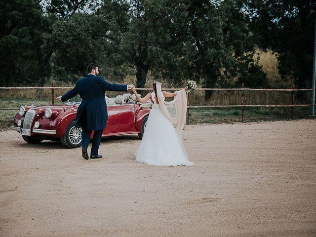 La boda de Javier y Beatriz en Guadarrama, Madrid 50