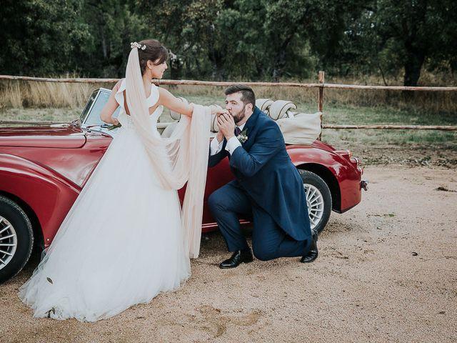 La boda de Javier y Beatriz en Guadarrama, Madrid 51