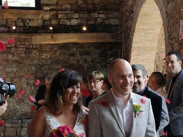 La boda de Bryn  y Sarahy en Moia, Barcelona 1