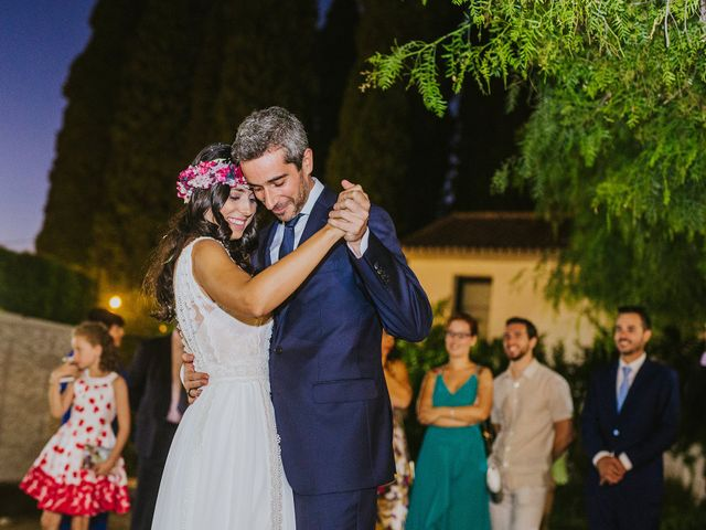 La boda de Álvaro y Marta en Granada, Granada 52
