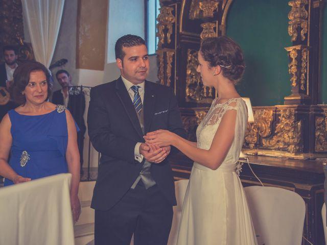 La boda de David y Diana en La Parra, Badajoz 24