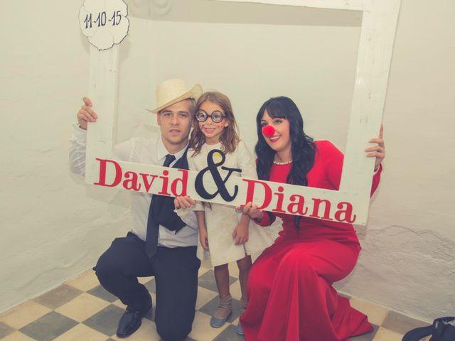 La boda de David y Diana en La Parra, Badajoz 56