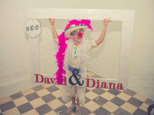 La boda de David y Diana en La Parra, Badajoz 57