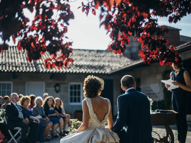 La boda de Jorge y Eli en Mosteiro (Meis), Pontevedra 13
