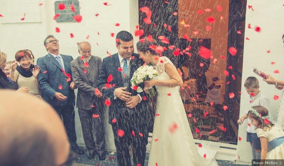 La boda de David y Diana en La Parra, Badajoz